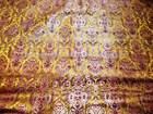 Indian satin Brocade fabric
