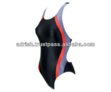 Hot Selling One Piece Swimming wear,Ladies New Design Blue Bikini