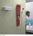 Temperli cam ucuz duş duvar paneli pu-8038
