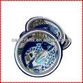 Belle espagnol. personnalisée. tapa plats en porcelaine céramique
