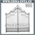 puerta de hierro forjado diseños