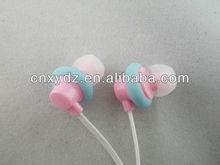 3.5mm custom logo earphone colour noodle cord