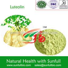 CAS 491-70-3/luteolin 98%/luteolin powder/luteolin sources