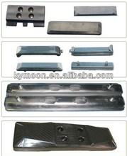 komatsu excavator rubber track/shoe/pad for PC50,PC60,PC75,PC78,PC90