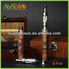 wholesale !!original manufacturer carved wood skull pipe e fire vaporizer pen