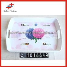 Hot Selling Nice Design Custom Print Melamine Plates