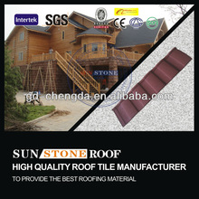 Latest Design Colorful Stone Chip Best Steel Tile Roof