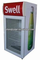 SC 86D refrigerator display cooler 86L 12V 24V