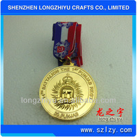 Custom design gold plated coins special meal for sale custom award medallion