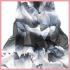2014 lastest fashionable ladies printed plain silk chiffon scarves