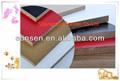 Fabricante de muebles/grado del gabinete de madera dura de fibra melamina hizo frente al mdf tableros
