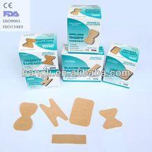 CE Sterile Butterfy Adhesive ,Fingertip Bandage&Large patch bandages&Knuckle bandage