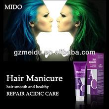 MIDO wholesale colorful hair black gel super hard hair gel