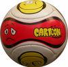 Advertising Soccer Ball Cartoon