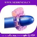 juguete del sexo duro estancia de vibración orgásmica anillo de la erección del pene masculino anillo vibrador pene sexo productos