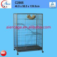 Pet product large metal cat crate