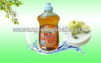 Orange concentrate dishwashing liquid detergent formula