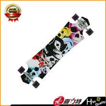 canadian wooden long board skateboard
