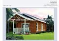 Modulaire jeunesse, log cabin log-116 kits pour la vente