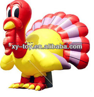 Advertising inflatable turkey decorations,giant inflatable turkey