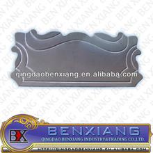 wrought iron door knob plates