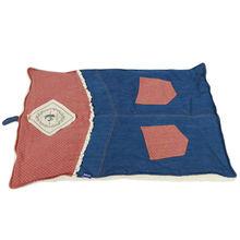 Denim pad for dog girls pet cushion hamburger cat bed cheap pet pad