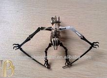 Bo Jun high quality laser cut metal art dinosaur