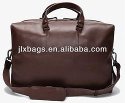 pu leather men weekend bag