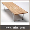 indoor outdoor antique wooden park bench (Arlau FW187)