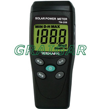 Solar Power Meter TM-206 with 3 1/2 digits LCD display