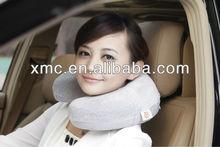 U-shape Case-hardened Imported Beads Beige Travel Cushion Cover