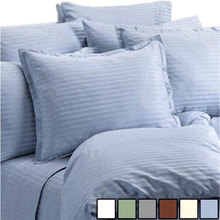 High quality hotel solid color and white 100 cotton bedsheets