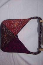 Shyama ARI & Mirror Work Ladies Purse with Rope Handle