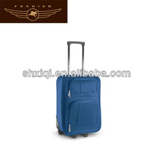 polyester eva trolley luggage 2014 manufacturers luggage
