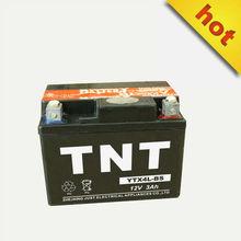 electric motor battery long lifespan battery 12v 3ah YTX4L-BS