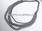 YN5158 handmade metal necklace in roll jewelry chain manufacturer bulk