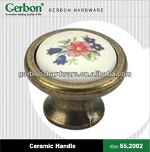 Brass Porcelain Handle