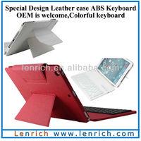 LBK158 For ipad air 5 Arabic layout keyboard keyboard cover leather PU case stand detachable wireless keyboard