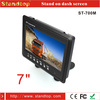 7 inch pillow tft car back seat lcd monitor