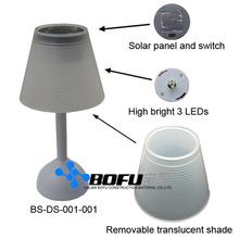 solar LED table lamp, desk lamp, table lamp