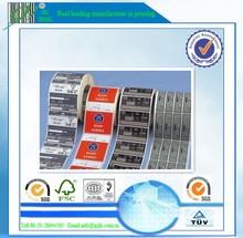 packaging adhesive thermal paper label