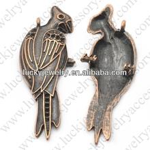 bird zinc alloy nickel free pendants