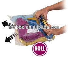vacuum storage bag hand roll type