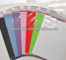 felt sheet A4 , craft felt sheet, polyester felt, DIY felt sheet