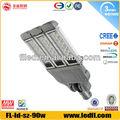 china 5 jahre garantie ip65 drei Finger 90w led straßenbeleuchtung
