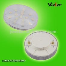 5050smd gx53 energy saving lamp replace 25w halogen