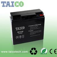 shenzhen vrla rechargeable storage MF 12v 18ah sealed lead acid battery