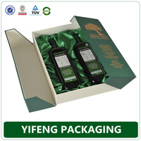 Custom logo printed empty gift olive oil packaging paper boxes for sale