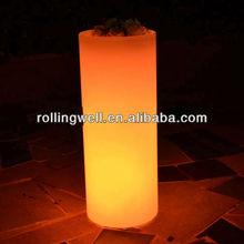 LED lighting square flower pot different size ,Waterproof LED Battery Lit Ice/Flower pots