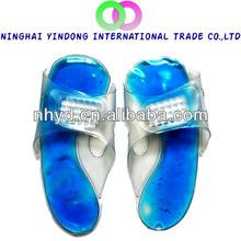 2013 new fashion gel slipper cold gel slipper